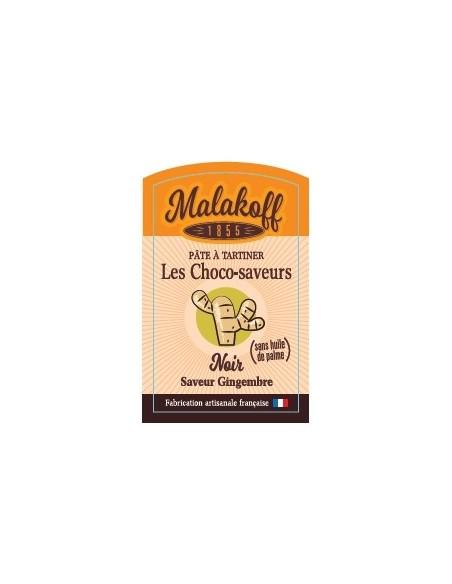Pâte à tartiner Chocolat Noir Gingembre 240gr