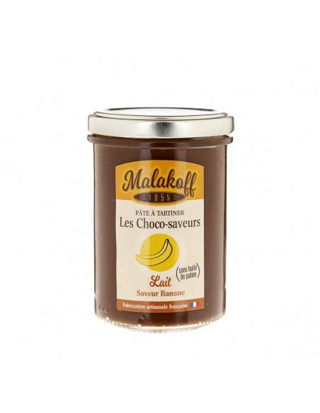 Pâte à tartiner Chocolat Banane 240gr
