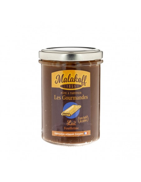 Pâte à tartiner Feuilletine Chocolat 240gr