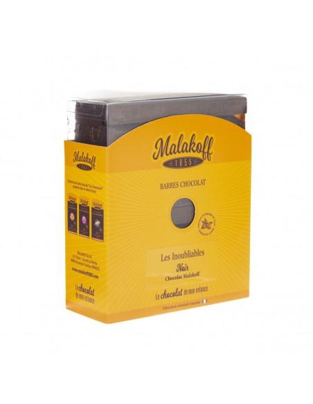 30 Malakoff Chocolat Noir Brut 600g.