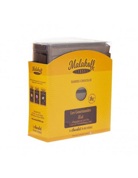 30 Chocolat Lait CARAMEL Brut 600Gr.