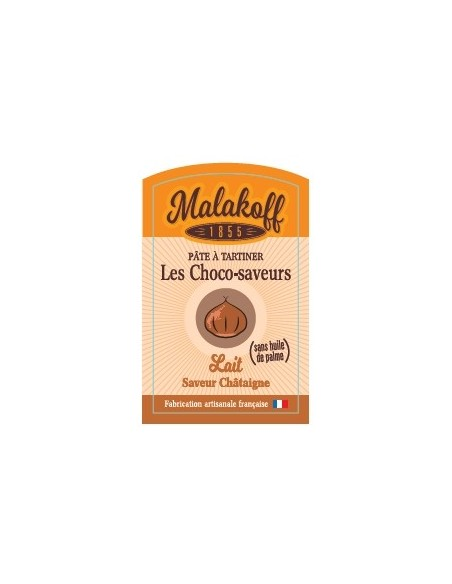 Pâte à tartiner Chocolat Chataigne 240gr
