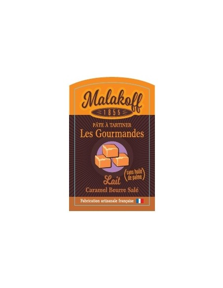 Pâte à tartiner Caramel Chocolat 240gr