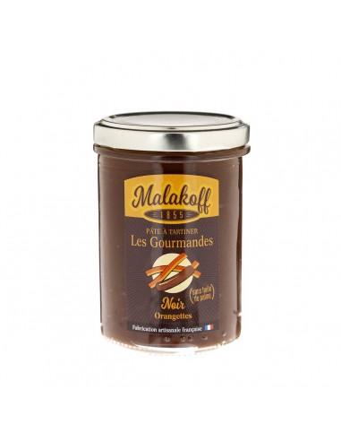 Pâte à tartiner Chocolat Noir Orange 240gr
