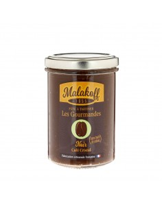 Pâte à tartiner Chocolat Noir Café 240gr