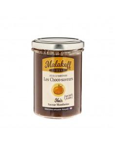 Pâte à tartiner Chocolat Noir Mandarine 240gr