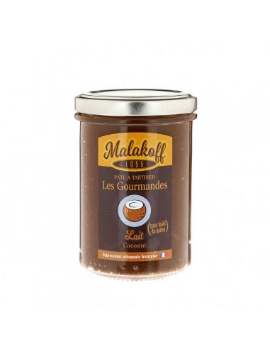 Pâte à tartiner Chocolat Noix de coco 240gr