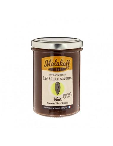 Pâte à tartiner Chocolat Noir Tonka 240gr