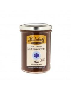 Pâte à tartiner Chocolat Noir Myrtille 240gr