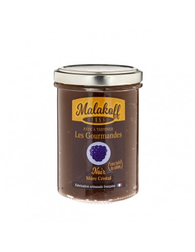 Pâte à tartiner Chocolat Noir Mûres240gr