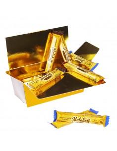 20 Malakoff Chocolat noir emballés 400g.