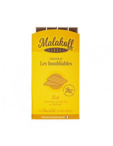 Tablette Chocolat Lait sans sucre 90g.