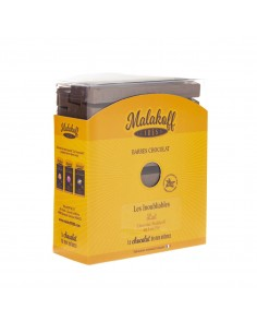 30 Malakoff Chocolat Lait Brut 600g.