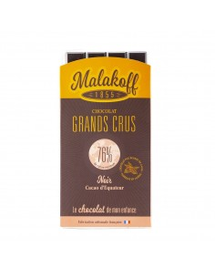 Tablette Choco Noir Equateur Noir 90g.