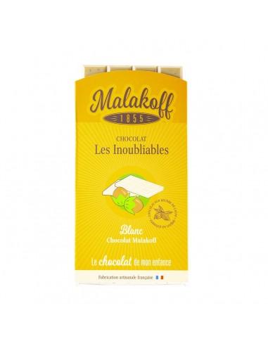 Tablette Malakoff Chocolat Blanc 90g.