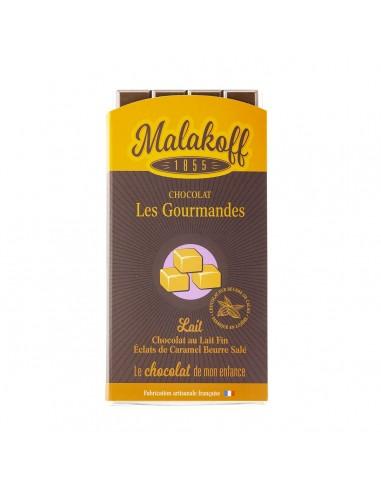 Tablette Chocolat Lait Caramel Gabin 90g.