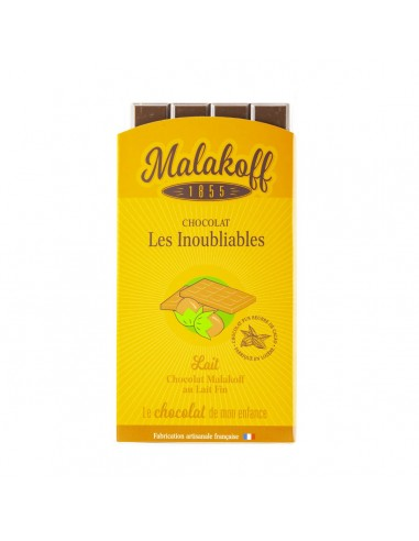 Tablette Chocolat Malakoff Lait 90g.