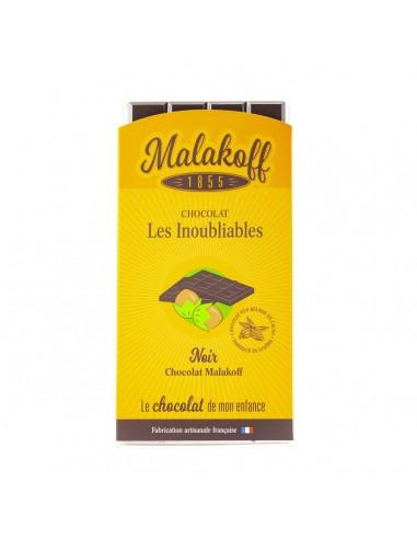 Tablette Malakoff Chocolat Noir 90g.