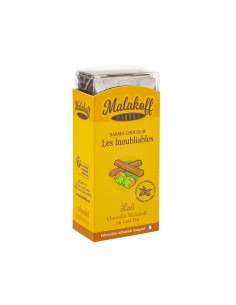 6 Malakoff Chocolat Lait Brut 120g.