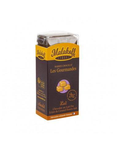 6 Chocolat Lait Caramel Gabin Brut 120g.
