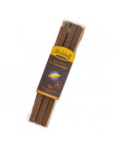 12 Chocolat Feuilletine Brut 240g.