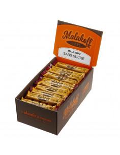 Boite 60 Malakoff Sans Sucre Noir emballés