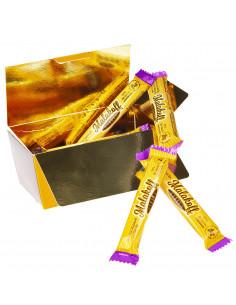 10 Chocolat Caramel Gabin Emballés 200g.