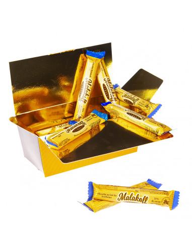 Ballotin 20 Feuilletine Chocolat Lait emballés