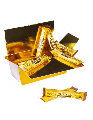 20 Malakoff Chocolat Lait emballées 400g.