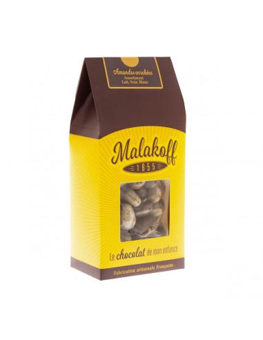 250g Amandes enrobées 3 chocolats